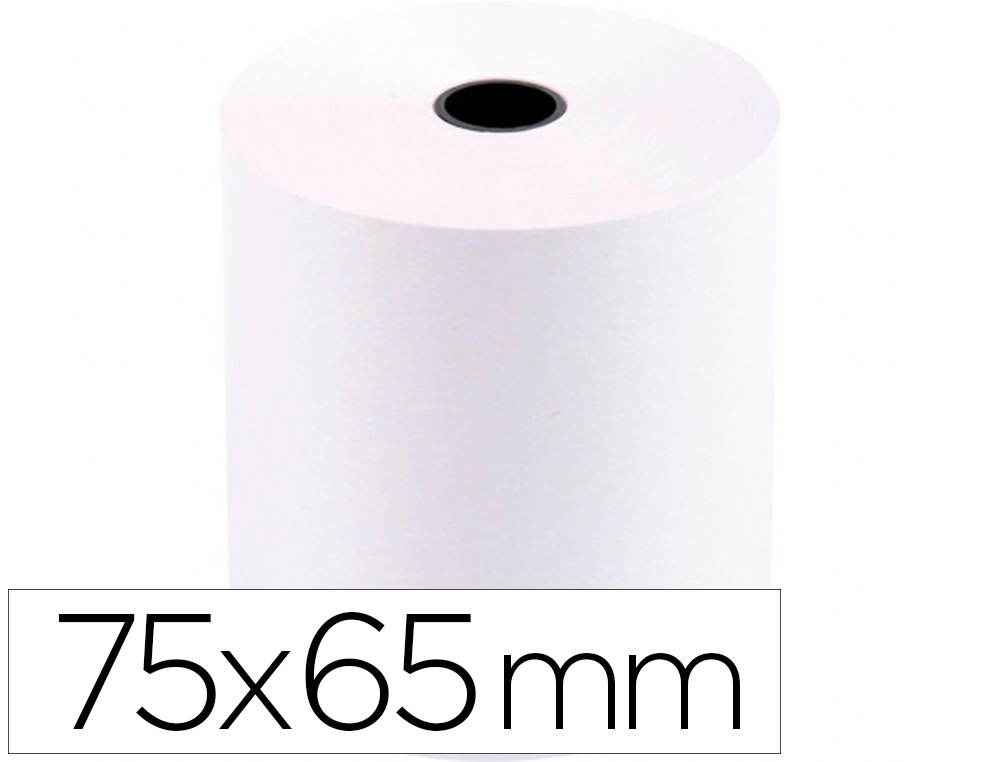ROLLO SUMADORA ELECTRO 75 MM ANCHO X 65 MM DIAMETRO SIN BISFENOL A